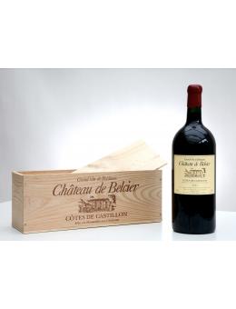Magnum CHATEAU DE BELCIER 2008, Vin, , Castillon Côtes Bordeaux