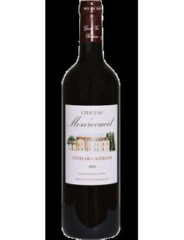 CHÂTEAU DE MONRECUEIL 2016, Vin, , Castillon Côtes Bordeaux
